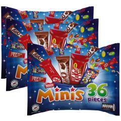 Nestle Minis Mixed Chocolates Bag  2+1 Free
