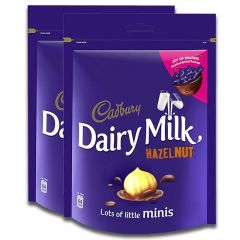 Cadbury Dairy Milk Chocolate Hazelnut Pack of 2