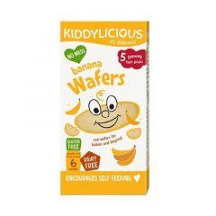 Kiddylicious Wafers Banana Mini
