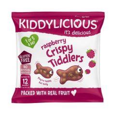 Kiddylicious Crispy Tiddlers Raspbry