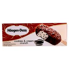 Haagen-Dazs Cookies And Cream Crunch Stick Ice Cream