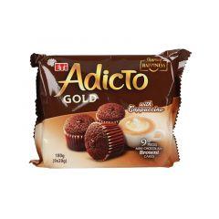 Eti Adicto Gold Mini Chocolate Cake With Cappuccino