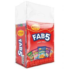 Kitco Snack Fab 5 Assorted Variety Pack