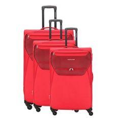 Kamiliant Bali Red Luggage Set Of 3