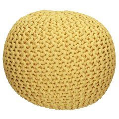 Selena Assorted Knitted Pouf