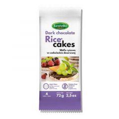 Lestello Dark Chocolate Organic Rice Cakes