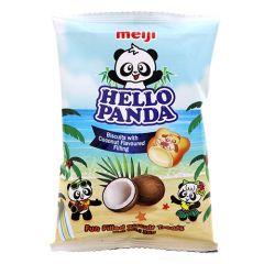 Meiji Hello Panda Coconuts Filling Biscuit