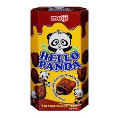 Meiji Hello Panda Fun Filled Chocolate Biscuits Treats