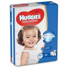 Huggies Size 4+ Ultra Comfort Baby Diapers 10-16 Kg