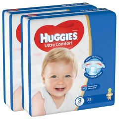 Huggies Size 3 Ultra Comfort Baby Diapers 4-9 Kg