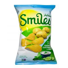 Smiles Natural Yoghurt Cucumber and Mint Potato Chips