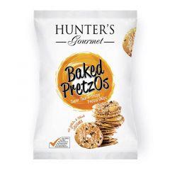 Hunter's Gourmet Baked Pretzos With Sea Salt Pretzel Chips