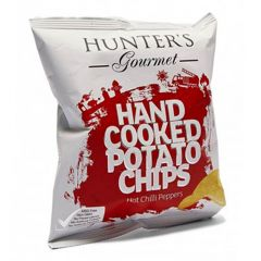 Hunter's Gourmet Hot Chili Peppers Hand Cooked Potato Chips