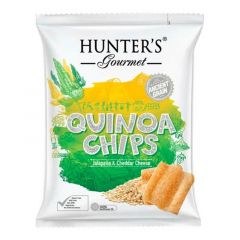 Hunter's Gourmet Jalapeno & Cheddar Cheese Quinoa Chips