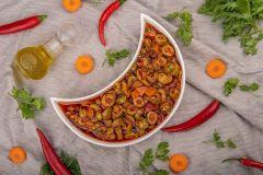 Al Kazi Olives With Garlic & Oil
