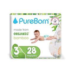 Pureborn Size No.3 Single Diaper 5.5-8kg
