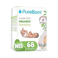 Pureborn Single New Born Diapers 0-4.5kg