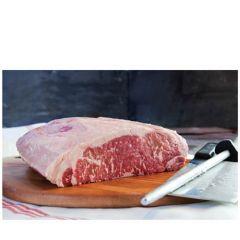 Ebony Black Angus Beef Striploin 100 Days G/F