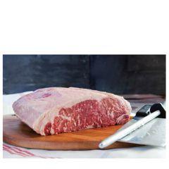 Ebony Black Angus Beef Striploin Steak