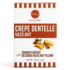 Melly's Crepe Dentelle Hazelnut Filled Biscuit