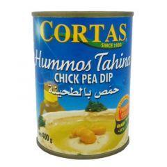 Cortas Hummos Tahina Chick Pea Dip