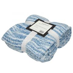 Selena Space Dyed Knitted Chenille Throw