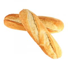 White Baguette Small Size