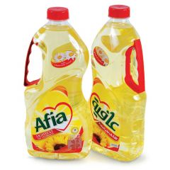 Afia Twin Pack Sunflower Oil