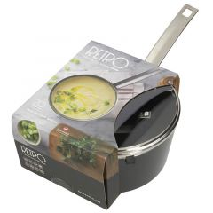 Retro Sauce Pan With Glass Lid
