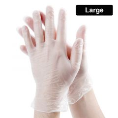 Latex Powdered Gloves Box - Large