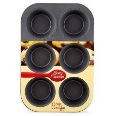Betty Crocker 6 Cup Muffin Baking Large Pan