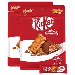 Kitkat Mini Moments Lotus Chocolate 122.5 Gm x 2