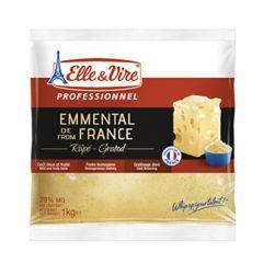 Elle & Vire Emmental FranceGrated Cheese