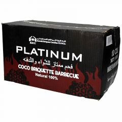 Platinum Coco Briquette Barbecue Charcoal