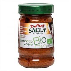 Sacla Organic Olive And Tomato Sauce