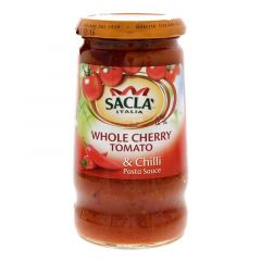 Sacla Italia Whole Cherry Tomato And Chili Pasta Sauce