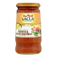 Sacla Italia Cherry Tomato And Grilled Vegetables Pasta Sauce