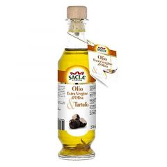 Sacla Italia Extra Virgin Olive Oil With Sliced Truffle