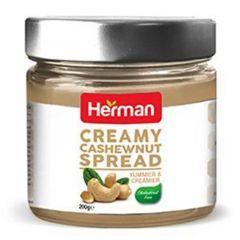 Herman Creamy Cashew Nut Spread