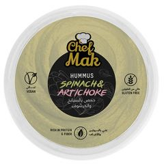 Chef Mak Gluten Free Spinach & Artichoke?Hummus