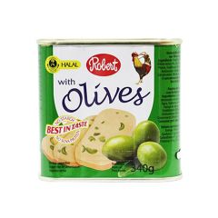 Robert Chicken Luncheon Meat With Green Olives