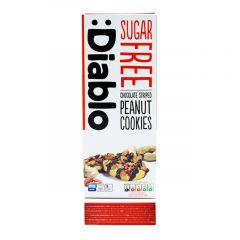 Diablo Sugar Free Chocolate Striped Peanut Cookies