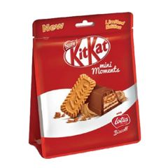 Nestle Kit Kat Mini Moments With Lotus Biscoff