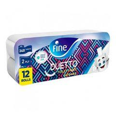 Fine Duetto toilet Roll Paper