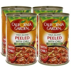 California Garden Peeled Fava Beans With Chili
