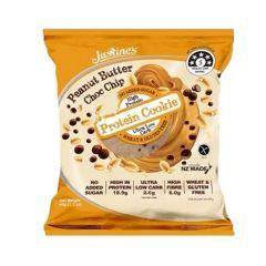 Justine's Peanut Butter Choco Chip Protein Cookie