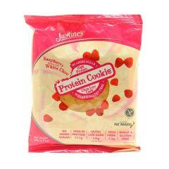 Justine's Raspberry White Choco High Protein Cookie