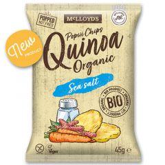 Mc Lloyd's Popiii Chips Organic Quinoa Sea Salt Snacks