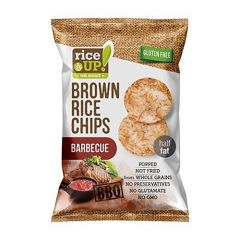 Rice Up Brown Chips With BBQ