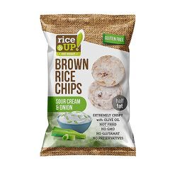 Rice Up Brown Chip With Sour Cream And Onion